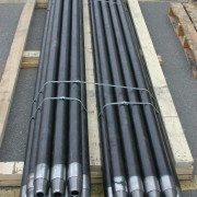 Drill rod, cross over subs, threaded casing1